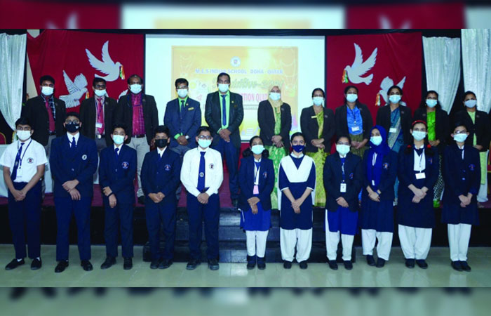 MES Indian School Quiz Club holds inter-section competition