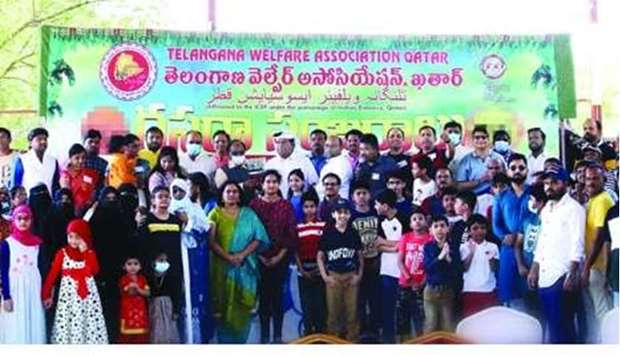 Telangana Welfare Association celebrates Dussehra