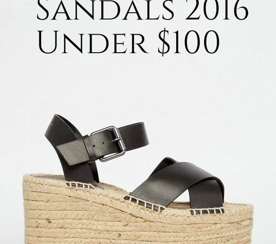 12 Cute Summer Sandals Under $100 ~ Summer 2016
