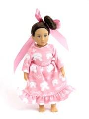 american girl mini doll pink bunny