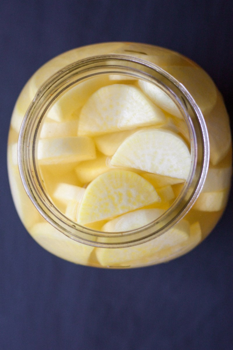 Takuan Pickled Daikon Radish The Domestic Man