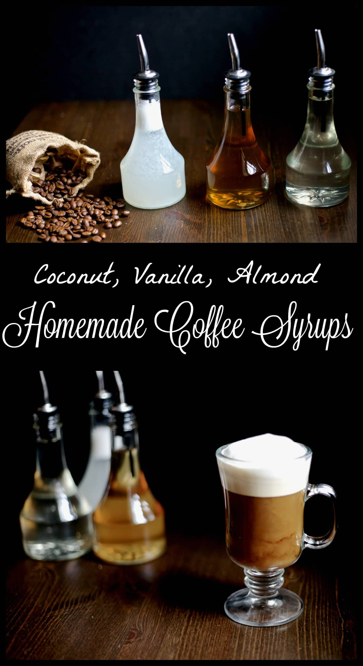 Homemade flavored coffee syrups are a healthier and easy way to jazz up your coffee without