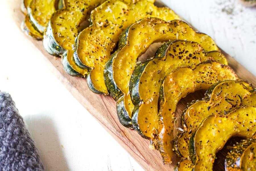 herb roasted acorn squash 2