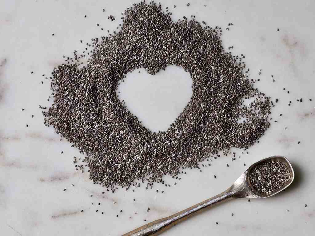 hearty healthy chia seeds