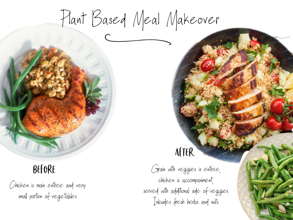 plant based meal makeover