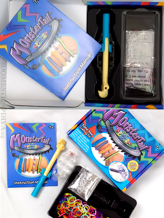 Monster Tail Rainbow Loom Kit Review