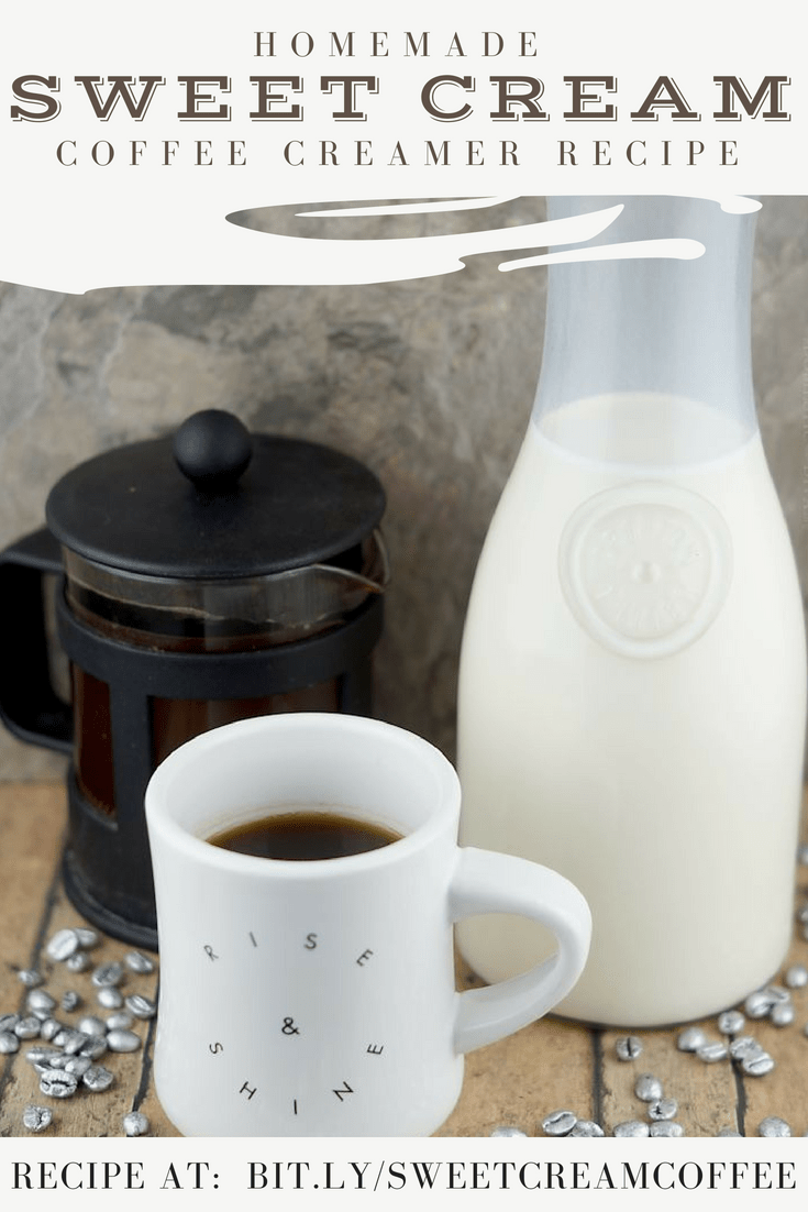 Homemade Sweet Cream Coffee CreamerHomemade Sweet Cream Coffee Creamer