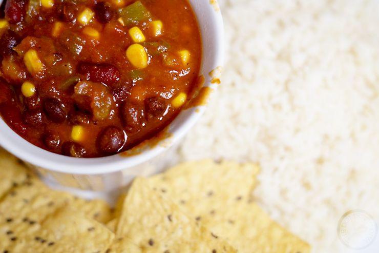 Vegetarian Instant Pot Chili Recipe (Electric Pressure Cooker)