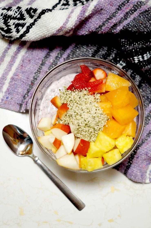 Fruit & Yogurt Breakfast Buddha Bowl recipe