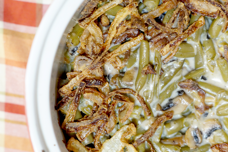Homemade Southern Green Bean Casserole Recipe