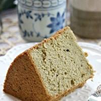 matcha chiffon cake