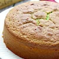 pandan coconut butter cake
