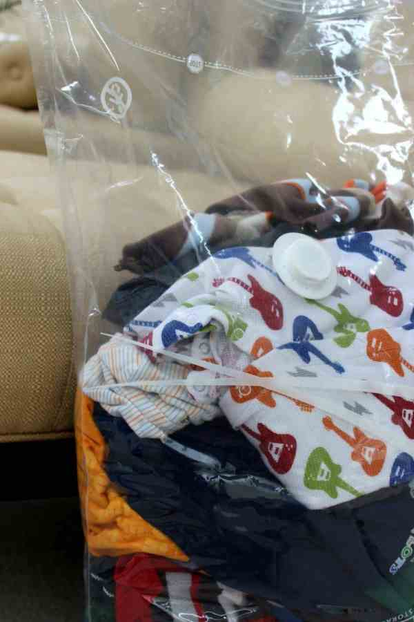 Ready Baby With Ziploc Space Bags Domestic Life Stylist