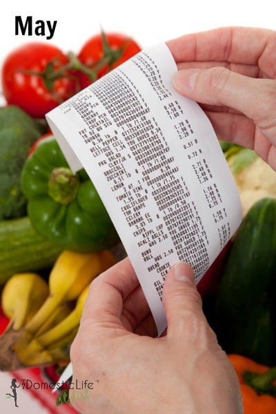 May grocery sales cycles
