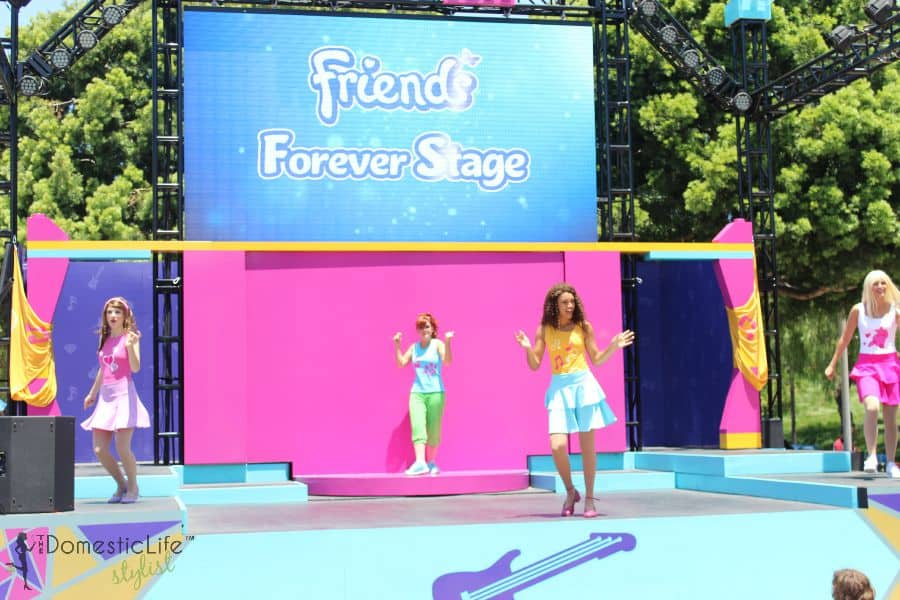 Friends Forever Stage