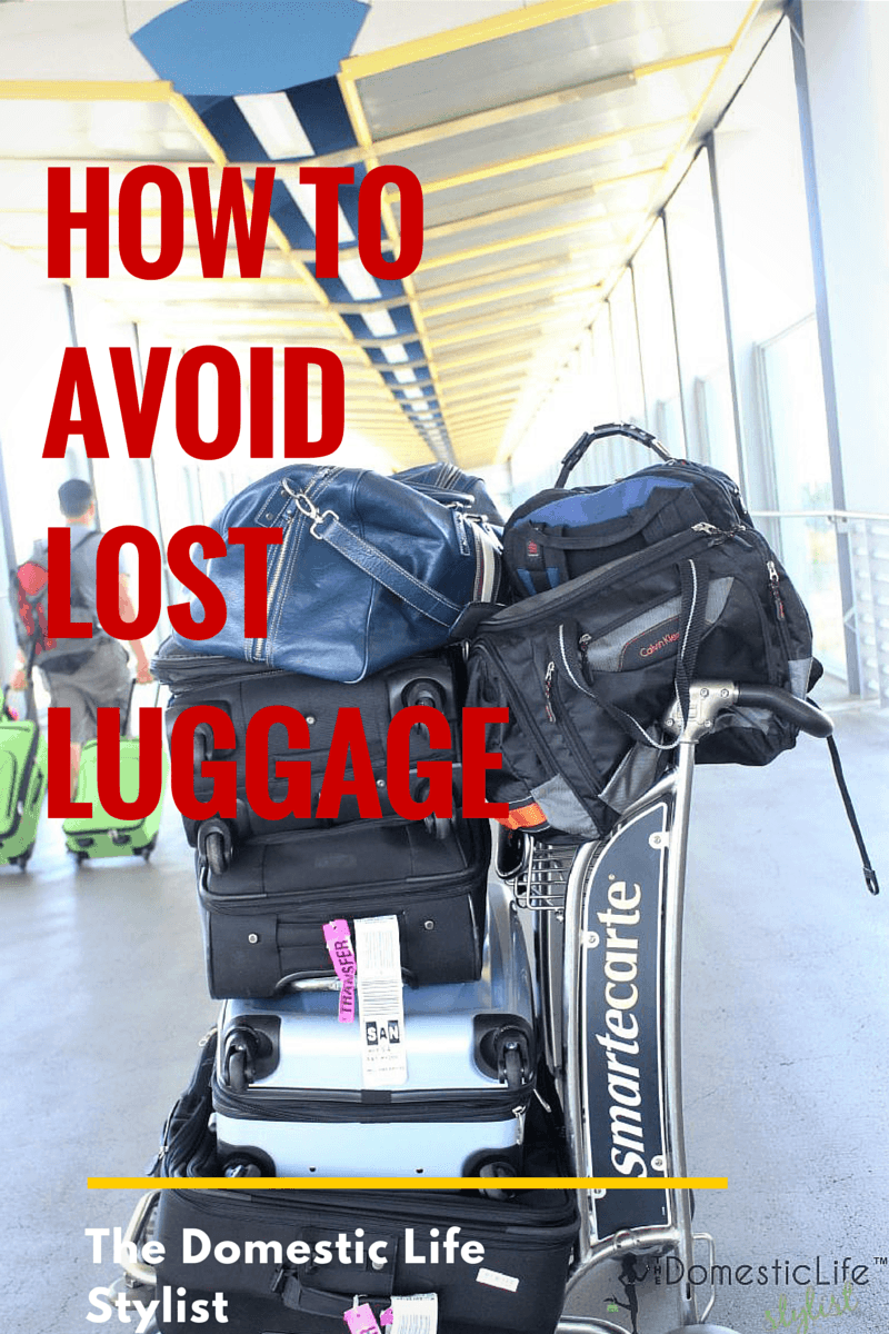 How to Avoid Lost Luggage