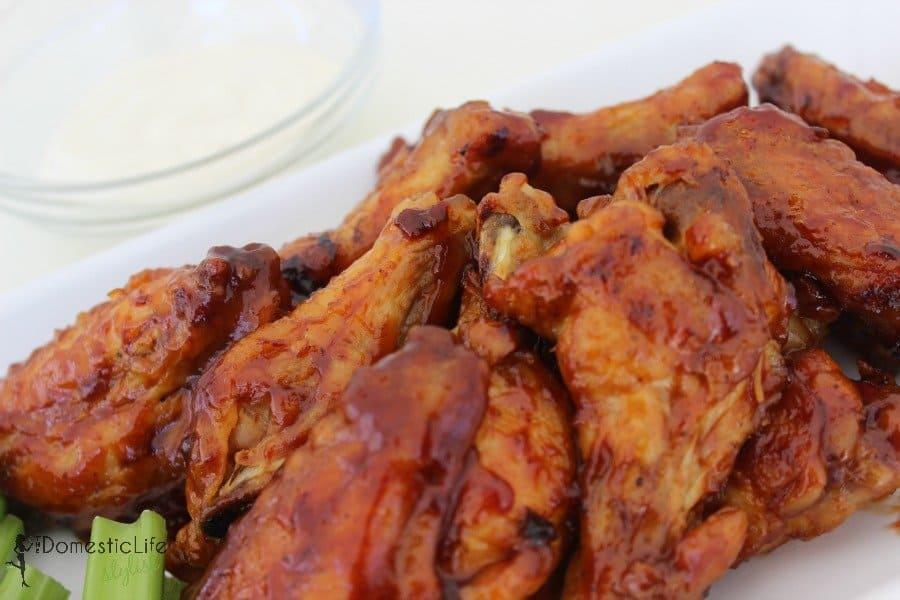 strawberry barbecue hot wings3