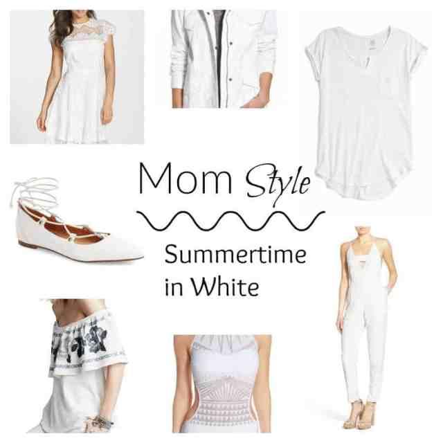 all white women's fashion