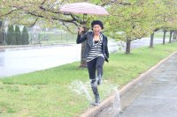 rainy day spring style