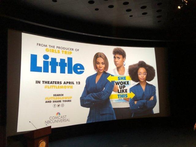 Little movie starring Regina King and Issa Rae