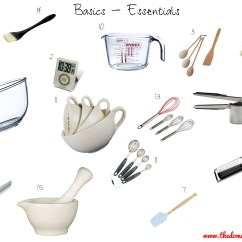 Essential Tools For The Kitchen Track Lighting Kits Food Prep And Equipment Facs Student Teaching