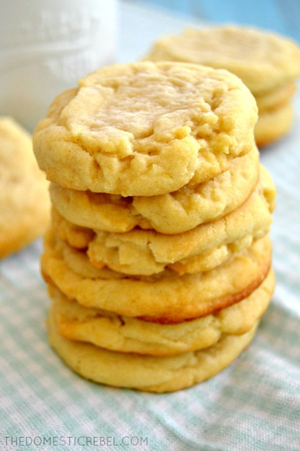The Best OldFashioned Sugar Cookies The Domestic Rebel