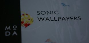 Sonic Wallpapers - The Book