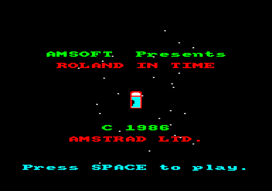 Our favourite 8-bit graphic computer game in the 1980s: Roland in Time! Perhaps this should form the basis for some Stranded Colourwork?!
