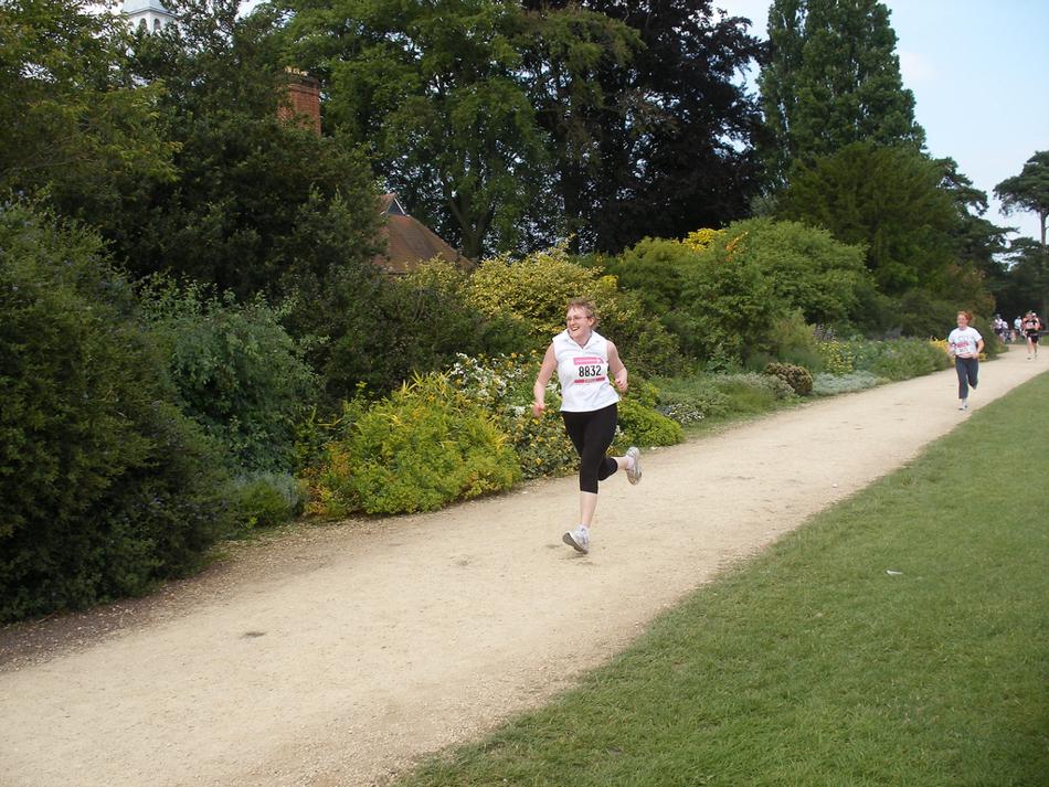 34 minute 5K run, 2007