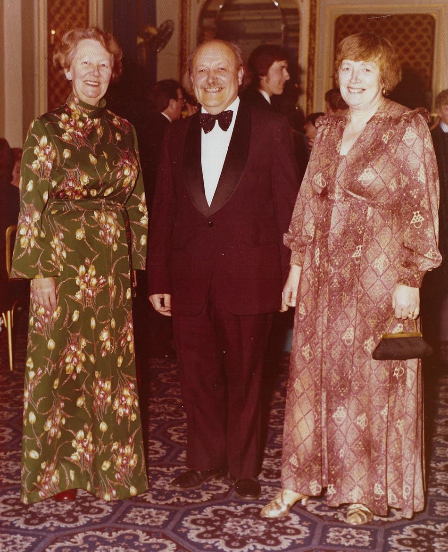 Hilary, Wilfred & Margaret, 1970