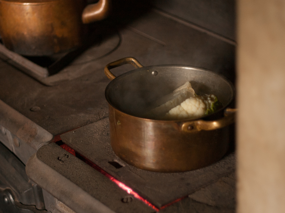To boil Cauliflower with cheese... in the 1850s