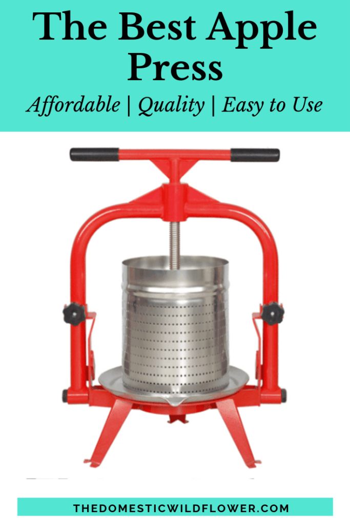 The Best Apple Press | Read how to choose an apple press, which apple press is the best, and how to make perfect homemade apple juice!