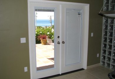 Exterior Sliding Doors With Blinds