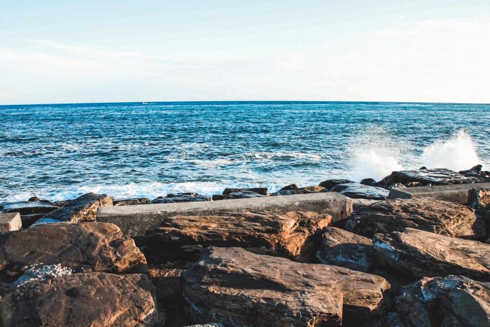 Küste von San Remo