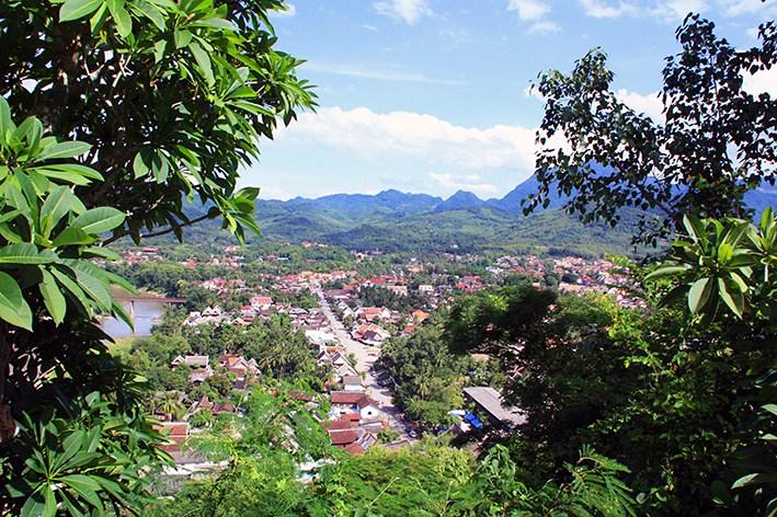 BLick über Luang Prbang