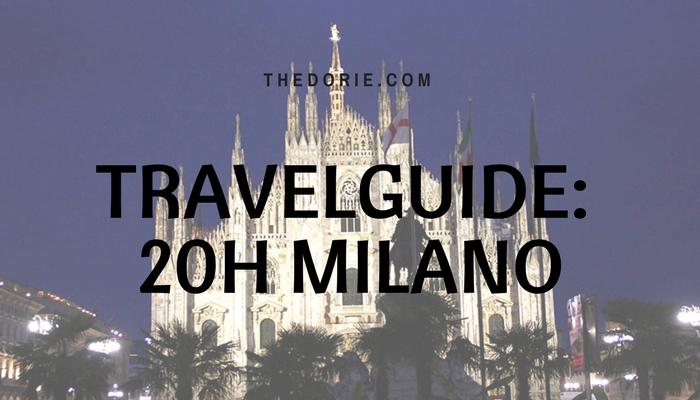 TRavelguide 20h Milano