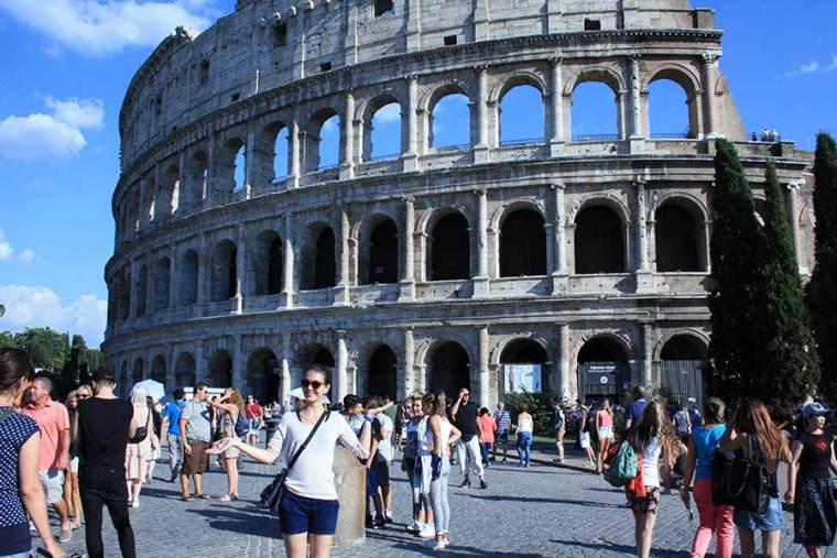 Rom zu Fuß: Colosseum