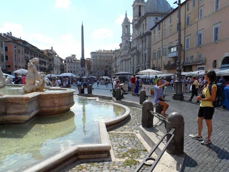 Rom zu Fuß: Piazza Navona