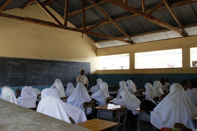 Primary School in Bwejuu Zanzibar