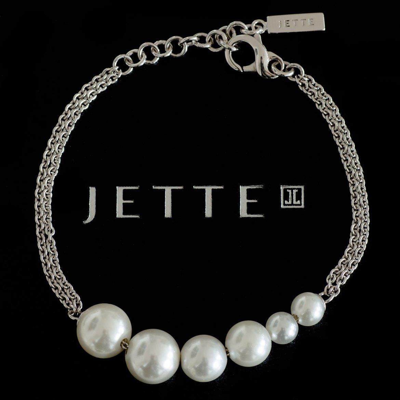 Jette Joop Armband mit Perlen