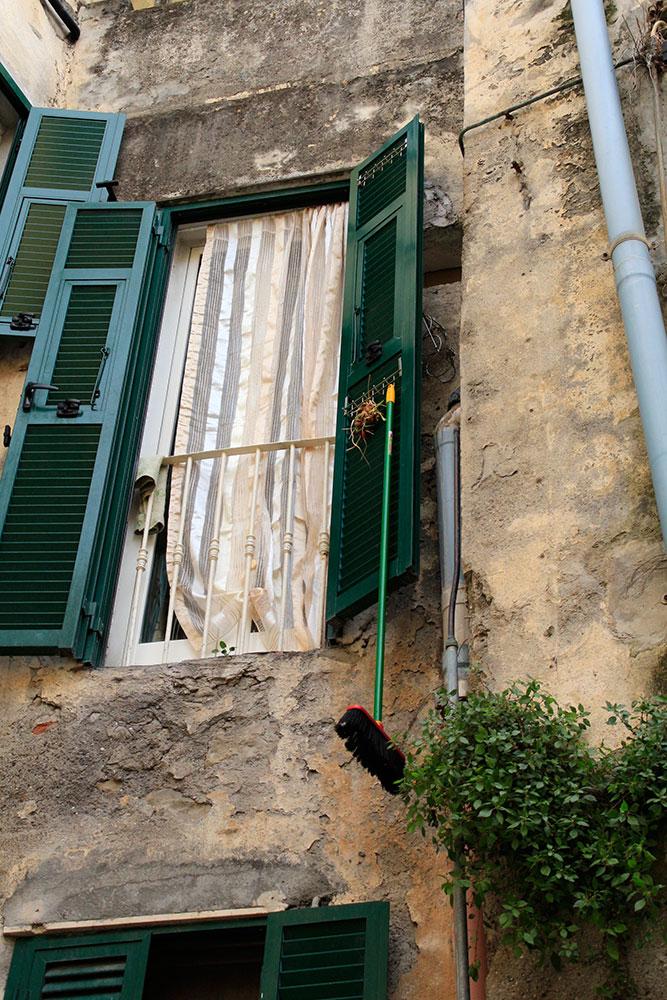 Fenster in Ventimiglia