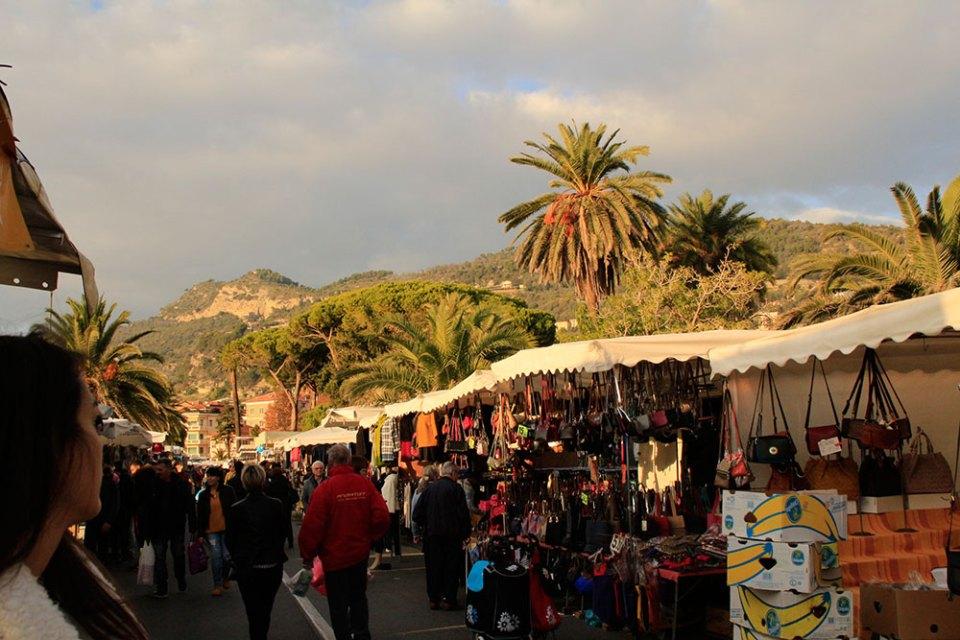Der Wochenmarkt in Ventimiglia
