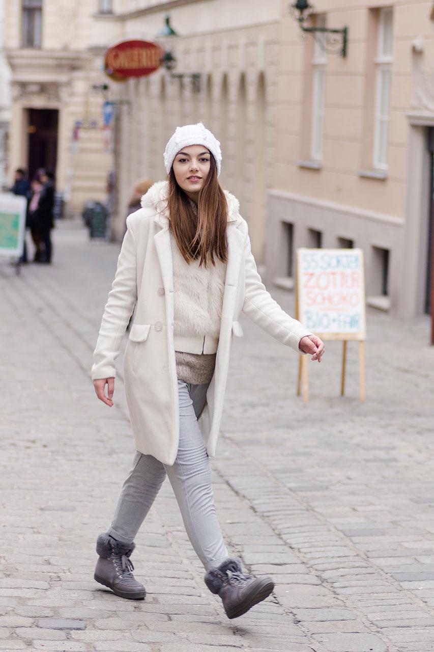 Winter Outfit im Schichtenlook