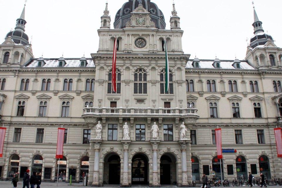 Rathaus von Graz