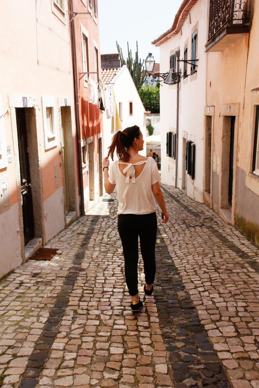 Dorie in Lissabon