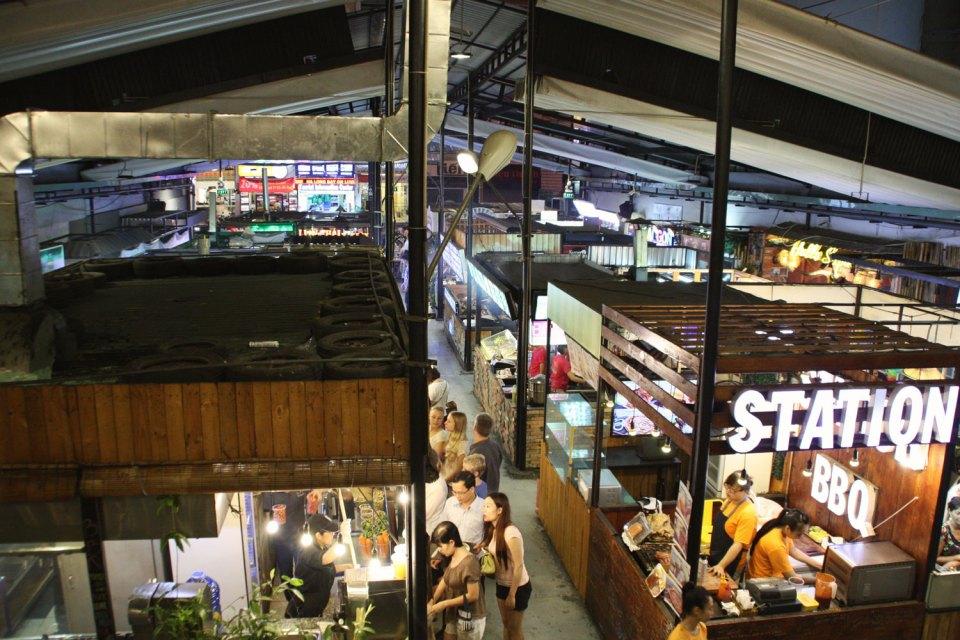 Benh Thanh Street Food Market