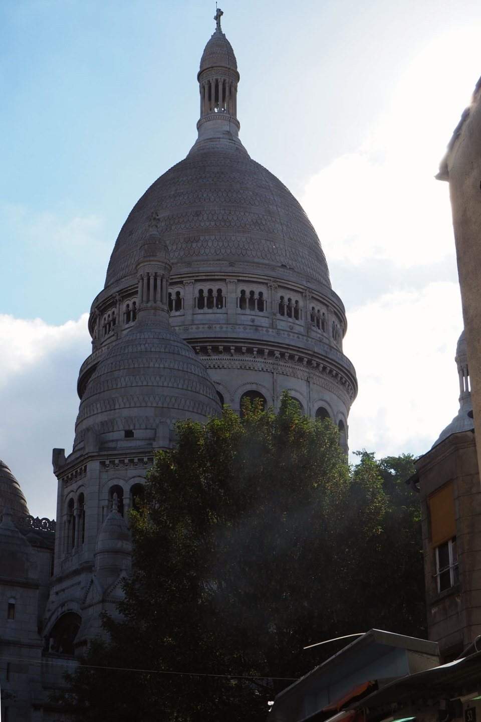 Sacre Coer from behind