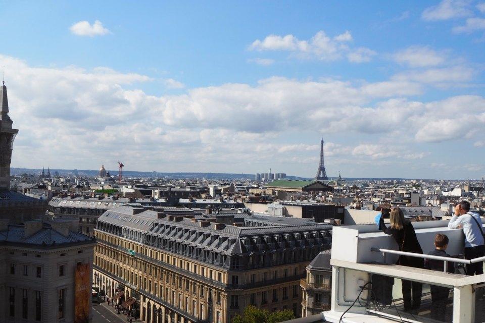 Paris Insider Tipps Galerie LaFayette