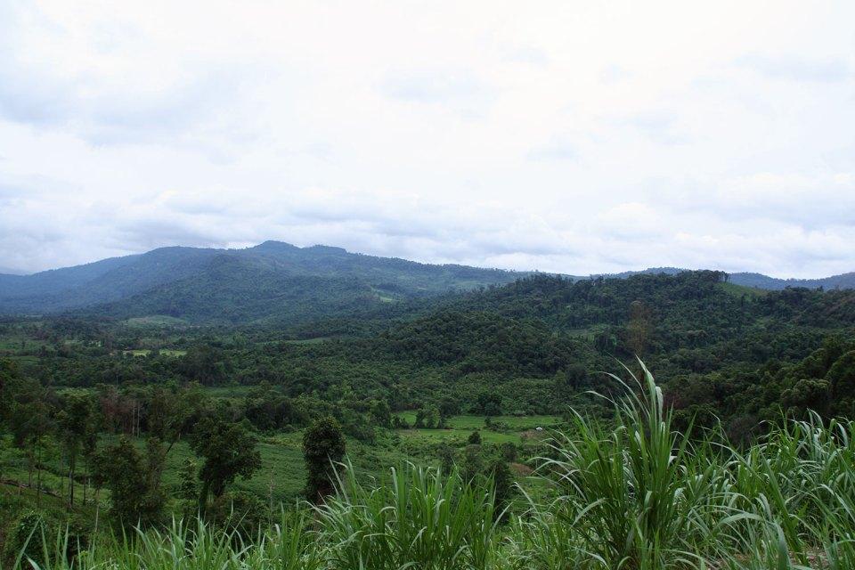 Landscape in Lao
