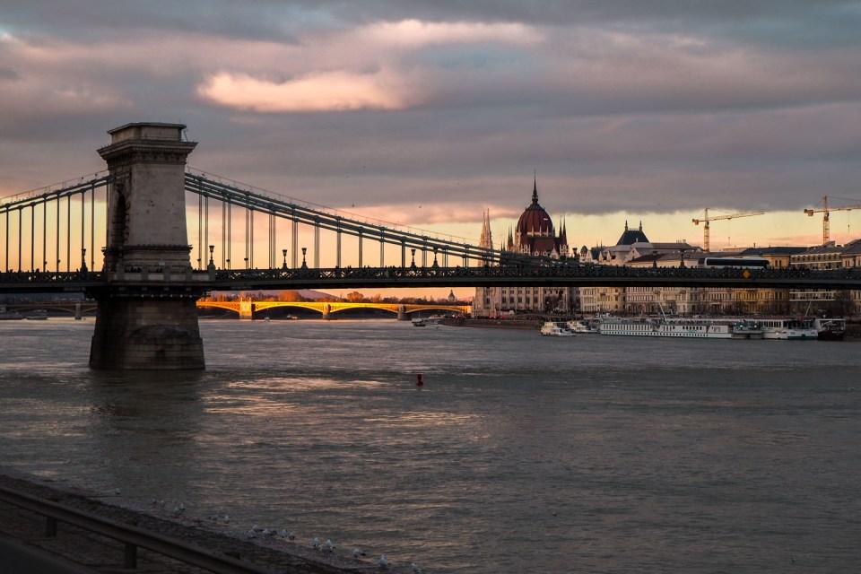 Budapest Parliament and Bridge